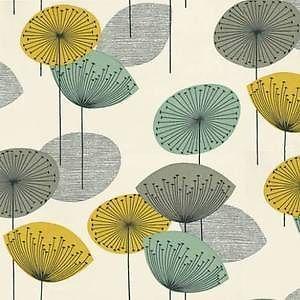 John Lewis Sanderson Dandelion Clocks Wallpaper DOPWDA104 Chaffinch Free P P | eBay