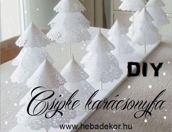 Csipkés karácsonyfa