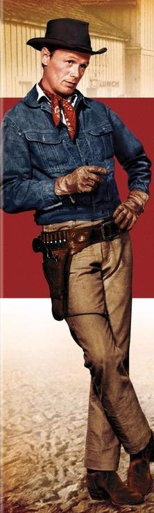 "THE LAW AND JAKE WADE (1958) - Richard Widmark as outlaw ""Jake Wade"" - Directed by John Sturges - MGM - Publicity Still."