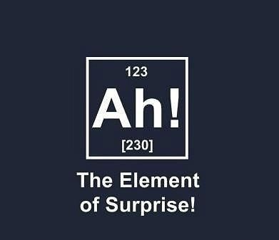 Can't wait to unleash my chemistry jokes next year. Nerd alert