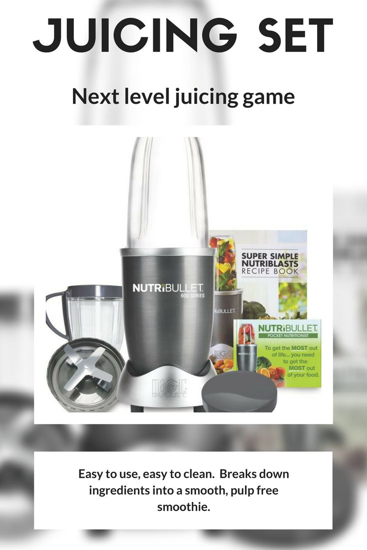 NutriBullet 600 Series 8 Piece Set, Graphite color. It crushes ice, bursts open seeds, cracks through though stems, and shreds tough skins to help you consume the normally unused nutrition. #ad #affiliate #healthyfood #healthyliving