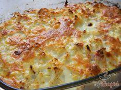 Sonkás-sajtos sült karfiol