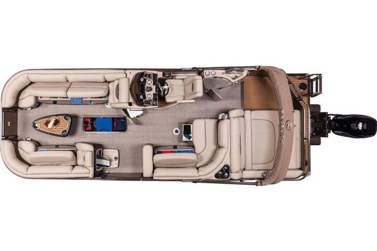 Storage compartments on the NEW 2016 Regency 254 LE3