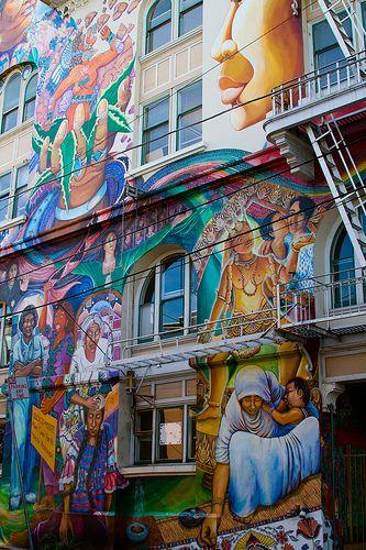 Street Art, San Francisco.