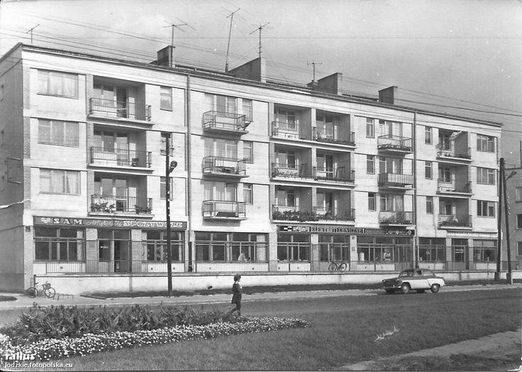 Jak zmienił się Jagiellońska w Skierniewicach? Jagiellońska lata 50/60 a styczeń 2012