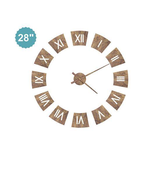 Römische Wand Uhr Wand Uhr Holzhaus Uhr moderne moderne Uhr Einweihungsparty Geschenk Jahrestag Wohnzimmer Wanduhr ✧ Holz (Sperrholz) Uhr ist ein hervorragendes Geschenk für eine Einweihungsparty. Werden Sie eine ausgezeichnete Innendekoration. ✧Different Farben stehen zur Verfügung