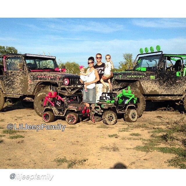 "Jeep Family __________________________________ by @liljeepfamily ""The Official @liljeepfamily Photo! ______ Photo credit to @eduardodiaz13"
