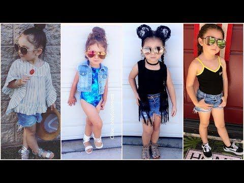 8c61fe51b اشيك ملابس اطفال بنات للخروج صيفية 2018 , ملابس بنوتات صيفي 2018 - YouTube