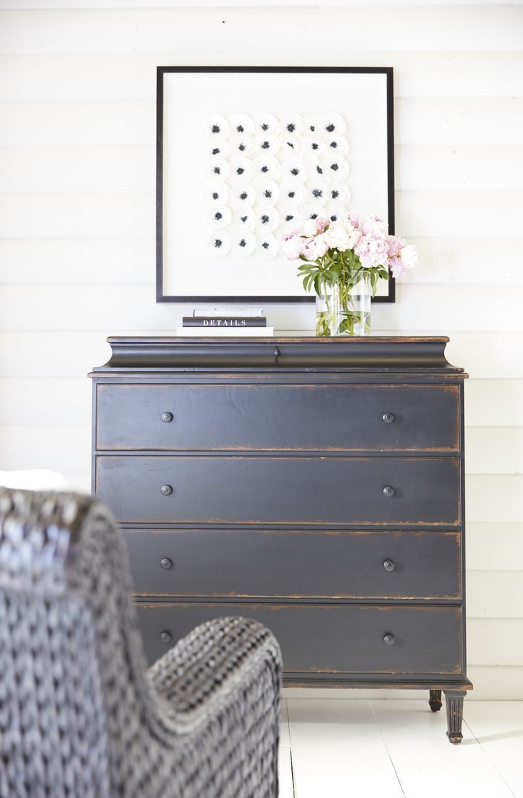 Leora Chest just arrived for our shoot in the Stormy finish - so gorgeous! It's hard to pick between the black or white - Style team