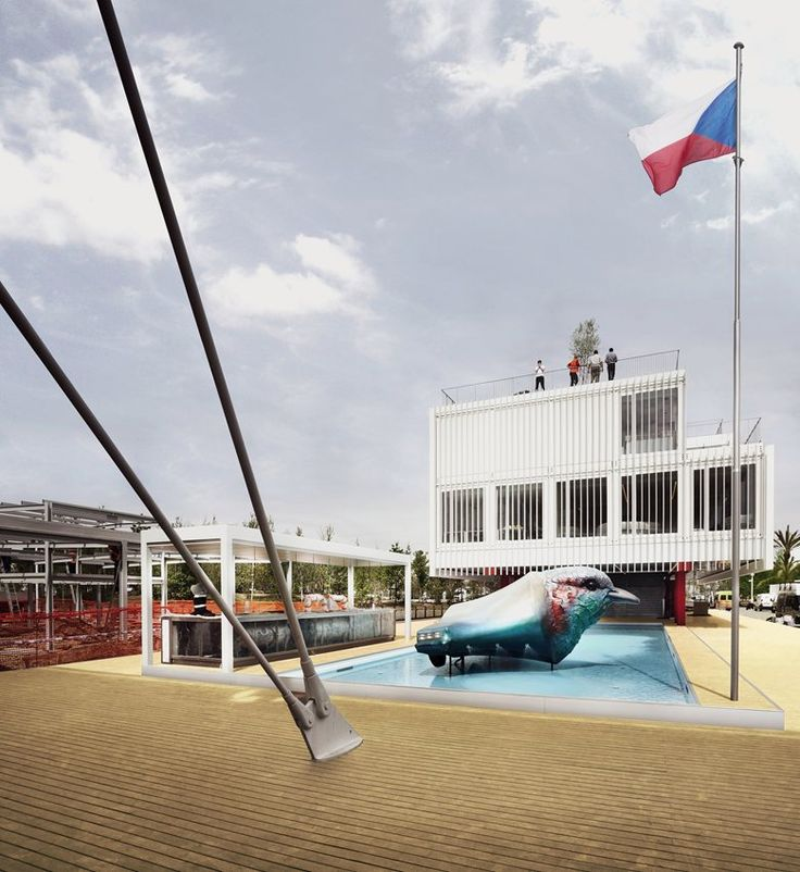 Czech Republic Pavilion at Expo Milano 2015, Milano, 2015 - Chybik Kristof Associated Architects