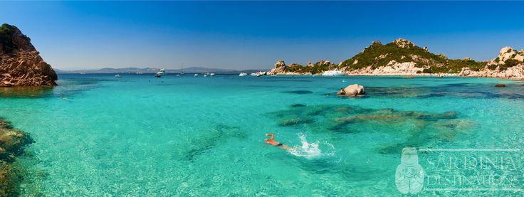 Spiaggia di Cala Corsara, Isola de La Maddalena,  Nord Sardegna