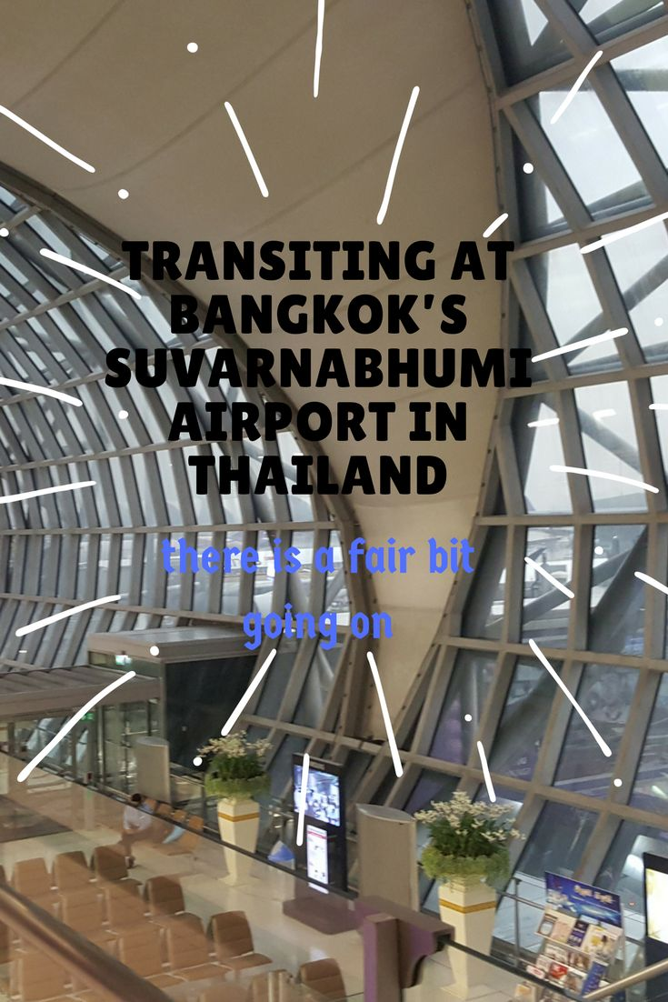 Transiting at Bangkok's Suvarnabhumi Airport puts a new perspective into long layovers as this busy airport has travellers priorities sorted.