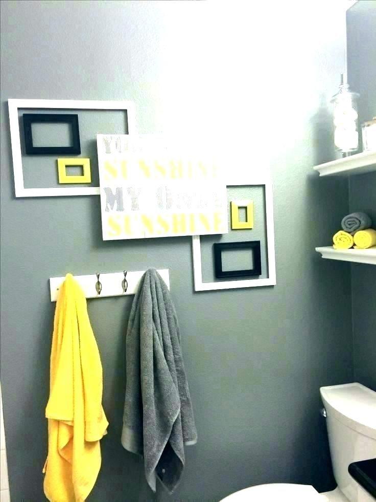 Yellow Bathroom Decor, Teal And Yellow Bathroom Accessories