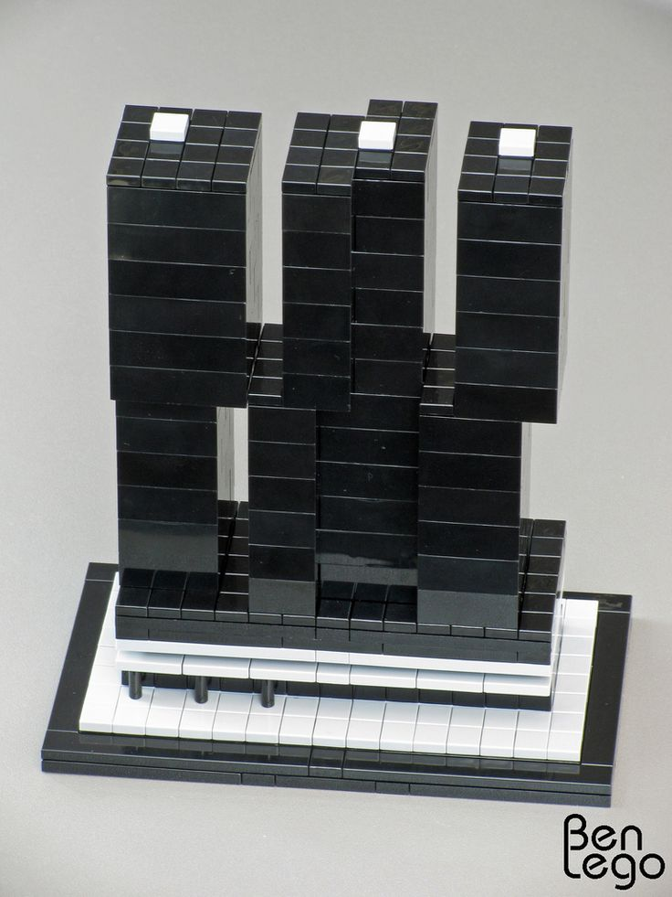 the rotterdam by architects oma koolhaas lego model by benlego