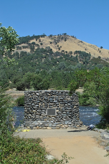 Sutter's Mill Site, Placerville, Gold Rush ! 1849