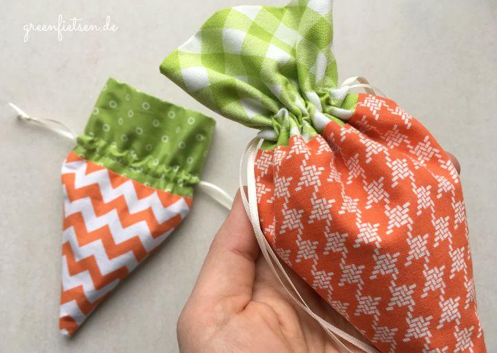 Karotten-Säckchen / Carrot Treat Bag