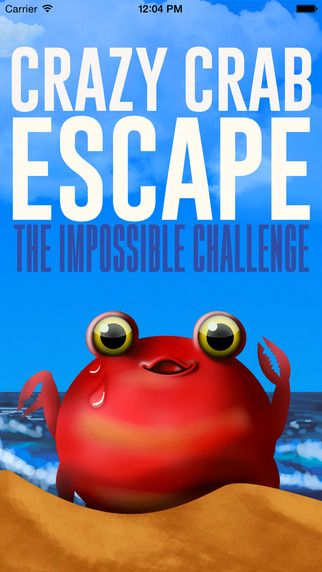 A really interesting yet annoying iOS game. Really wondering a poor crab has got these many challenges to reach its small home underground! LOL. Try this and have good fun. Download Link: https://itunes.apple.com/us/app/crazy-crab-escape-impossible/id964128967?mt=8