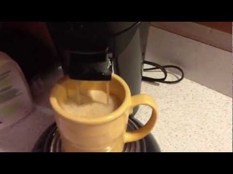 If you like your Senseo Coffee Pod maker and have ever wanted to make your own pods then check out this video. This works like a charm and will save you money and best of all you still get the froth just like the store bought coffee pods.
