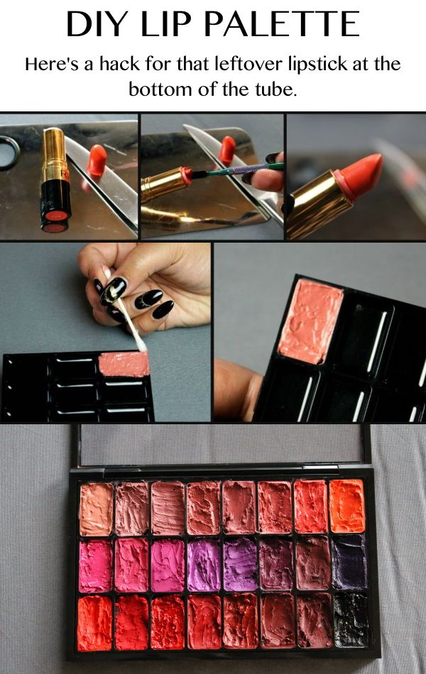 Don't waste the lipstick at the bottom of the tube!