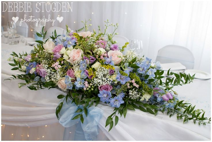 Venue flowers at #HunleyHotel by The Countryside Florist, Skelton