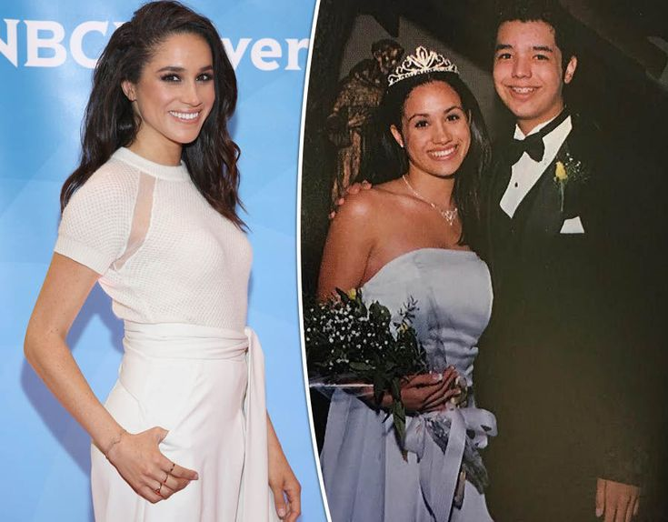 See Meghan Markle\'s throwback pics from homecoming queen to her potential as an actress.