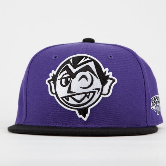 NEFF The Count Mens Snapback Hat
