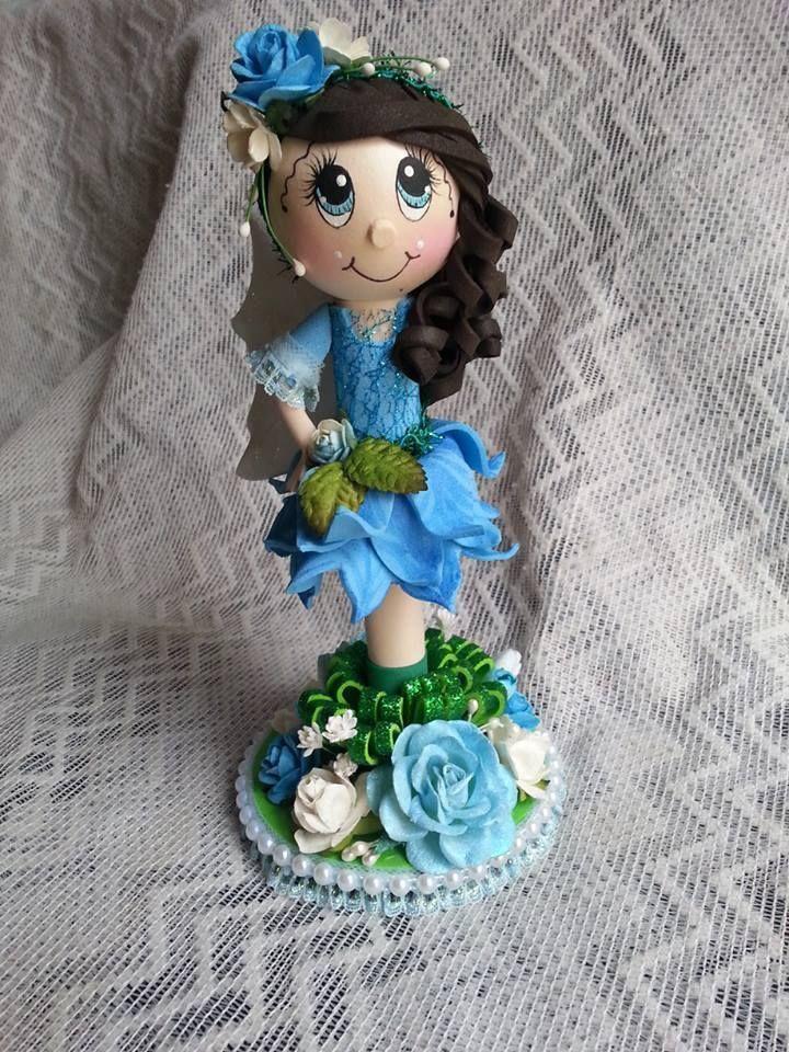 TWAG Rosa Fairy Fofucha Doll pen Fofupen Fofuchas