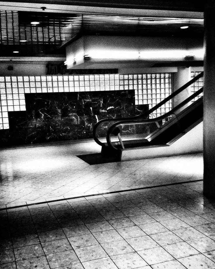 Future entrance. #ChinatownYVR #vancityvibe #blackwhitephotography #bnw_city #hicontrast #simply_noir_blanc