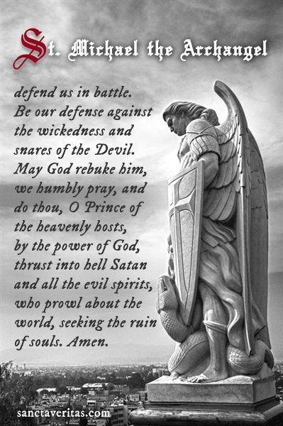 St. Michael the Archangel, pray for us!