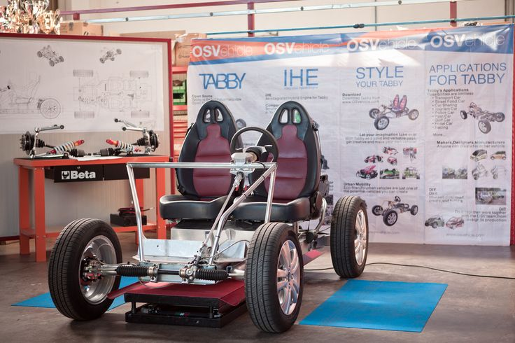OSVehicle - Open Source Elektrische Automobiel - http://on.dailym.net/19vbEeh - OSVehicle – Open Source Elektrische Automobiel – DailyM -een dappere poging om de hegemonie van de auto industrie te doorbreken  - http://cdn.dailym.net/mag/wp-content/uploads/2013/12/OSVehicle_Tabby.jpg