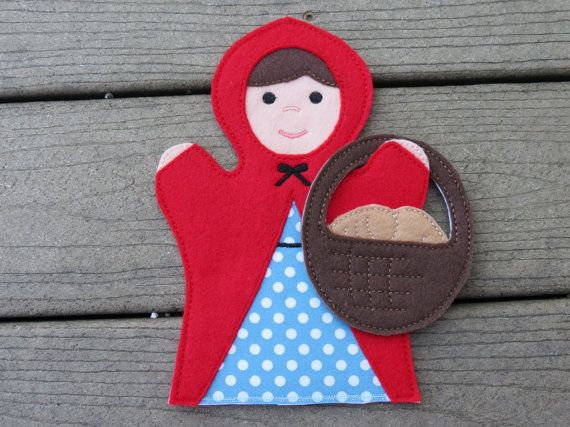 Red Riding Hood  Little Red Riding Hood Set  by ThatsSewPersonal, $10.00