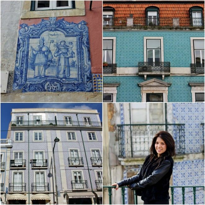 Museum of the Month: The Eccentric Azulejo (Tile) Museum in Lisbon - via The Culture Map 18.04.2014 | One of the special things about visiting the Azulejo Museum is that it's the only one of its kind in the world, furthermore unravelling 500 years of Portuguese history and craftsmanship. #Portugal Photo: Tiled buildings in Lisbon, Portugal