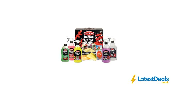 Carplan Demon 8pc Valeting Gift Pack £9.74 with Code at Euro Car Parts