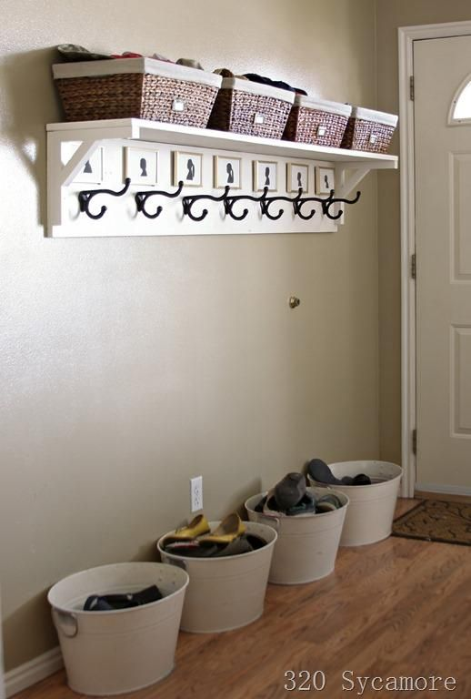 25 best ideas about entryway storage on pinterest the for Foyer storage ideas