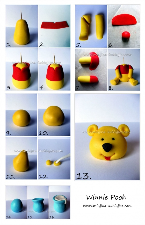 Tutorial: Pooh bear 2 (If I have the patience!)