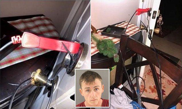 Florida man 'rigged door to electrocute pregnant wife' | Then changed his Facebook post to 'Widowed'