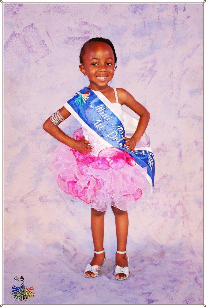 Mini Miss RSA 2015 - 1st Princess Vululami Rikhotso