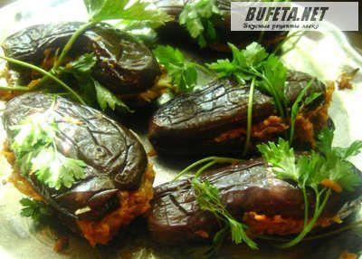 Квашеные баклажаны |  Баклажаны фаршированные овощами