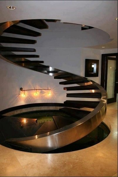 While I think this is really cool, I would never be able to get it. No railings? Heck no, I'd fall off- ALL the time.