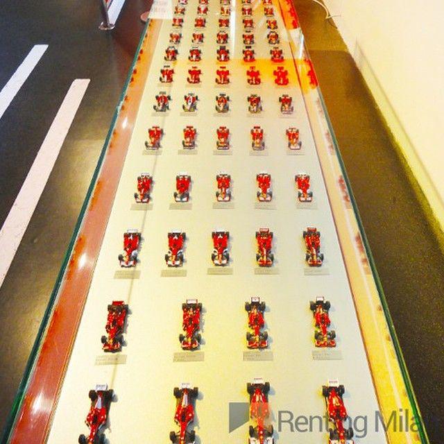 Renting Milan at the Ferrari museum just 1.5h away from Milan #rentingmilan #milan #milano #ferrari