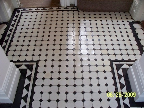 Edwardian tiles decor bathroom pinterest for Floor 5 swordburst 2