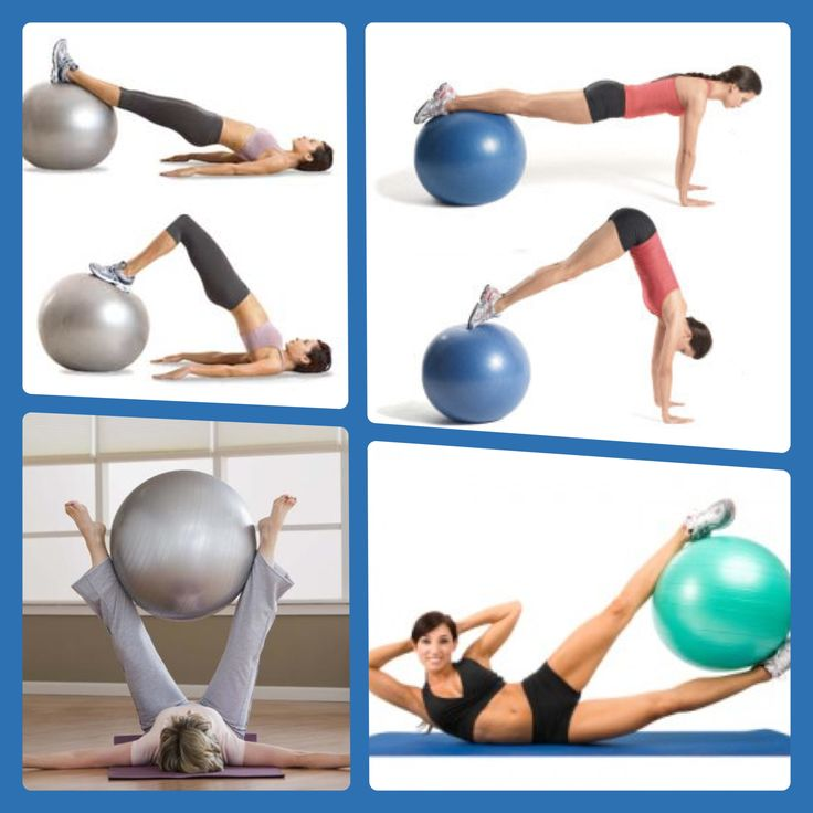 Stability Ball Upper Body Workout: 8 Best Hand Weights=goals Images On Pinterest