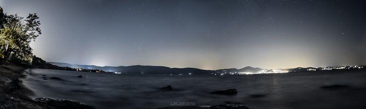 Lago di Bracciano, Fotografia notturna, nikon, daniele butera, panorama