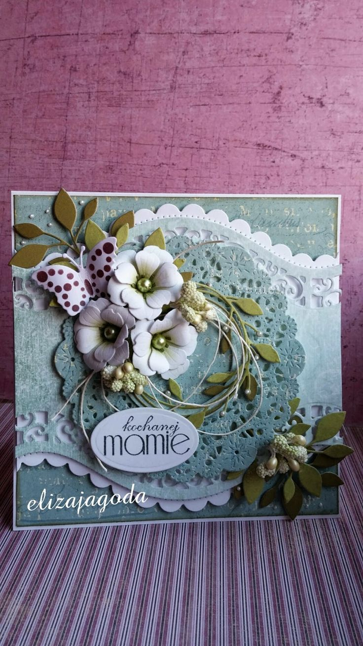 Kartka dla kochanej mamie...