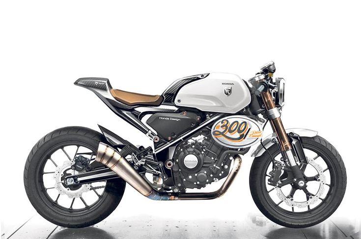 Vista al Salone di Bangkok lo scorso Marzo, la CB300 TT Racer potrebbe avere un…