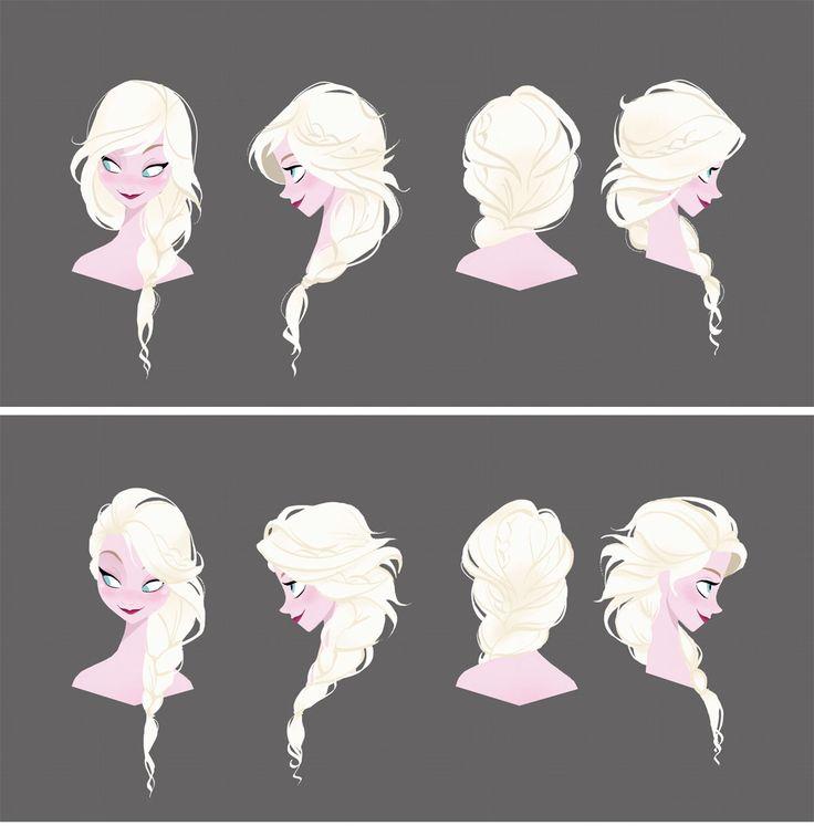 Personagens de Frozen, por Brittney Lee e Jin Kim | THECAB - The Concept Art Blog