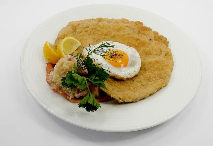 Old Swiss House Schnitzel, Swiss cuisine, December