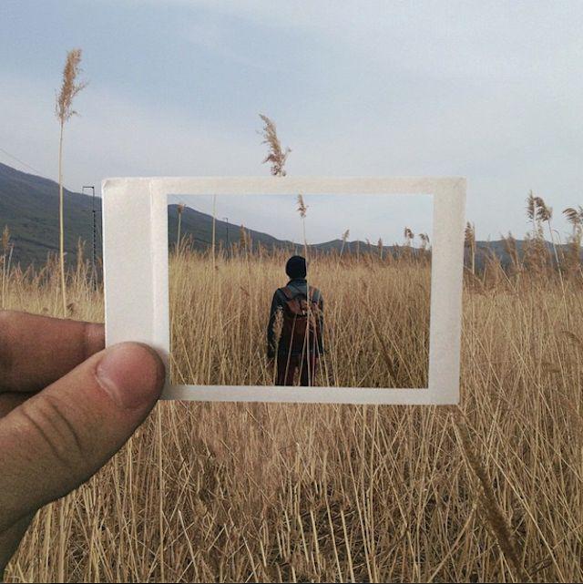 Moments Seen Through Polaroid Films