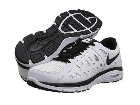 Nike Dual Fusion Run 2 White/Black/Black - Zappos.com Free Shipping BOTH Ways