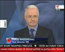 Virgil Magureanu: In '89 am avut o lovitura de stat militara organizata de KGB si CIA. Se stia din anii '70 ca Ion Iliescu va fi succesorul ...